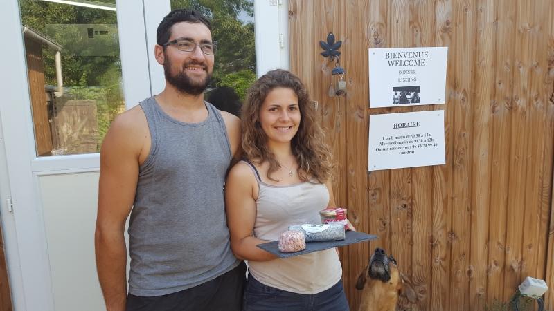Sandra et Rémi, éleveurs et producteurs de fromages de chèvre
