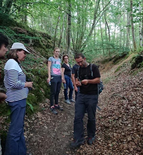 Explications nature en forêt du Val de Loire