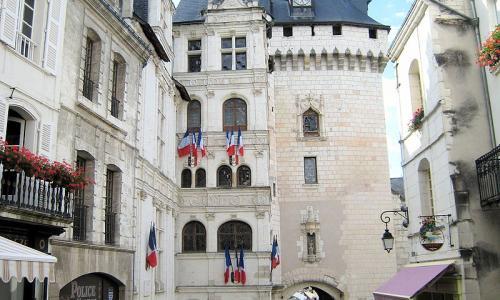 Loches hotel de ville et porte picois