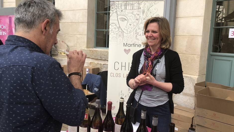 Dégustation de vins avec Martine Budé