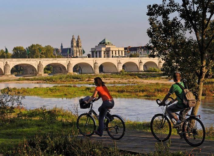 Loire à vélo à Tours
