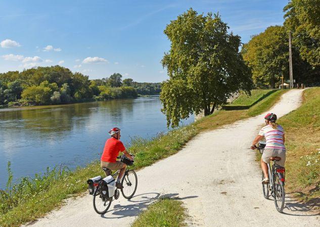 Loire à vélo - Source valdeloire-france