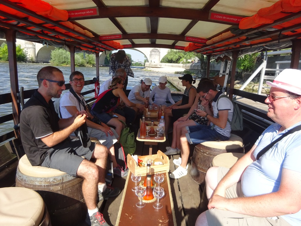 Excursion en bateau de Loire