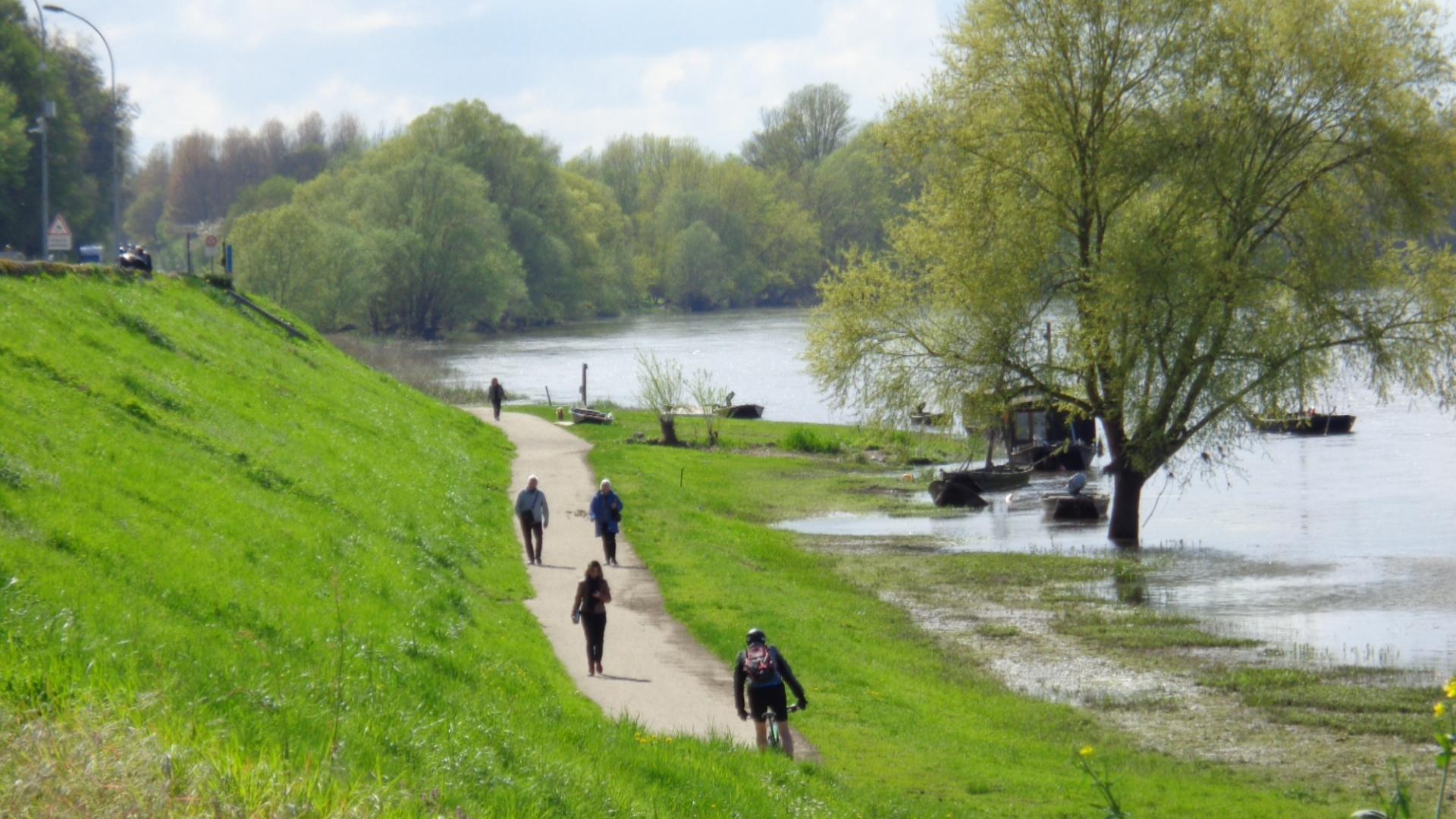 Journée à vélo sur la Loire à vélo