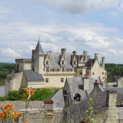Excursion plus beau village de france - Montsoreau Val de loire écotourisme