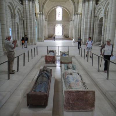 Visite privée de l'abbaye royale de fontevraud - Val de loire écotourisme