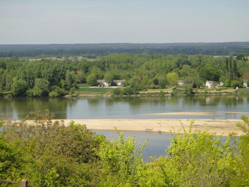 Panorama sur la Loire