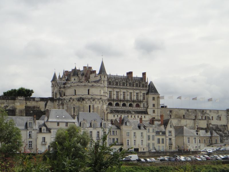 Excursion à vélo à Amboise