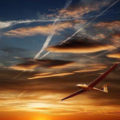 Planeur avion voyage