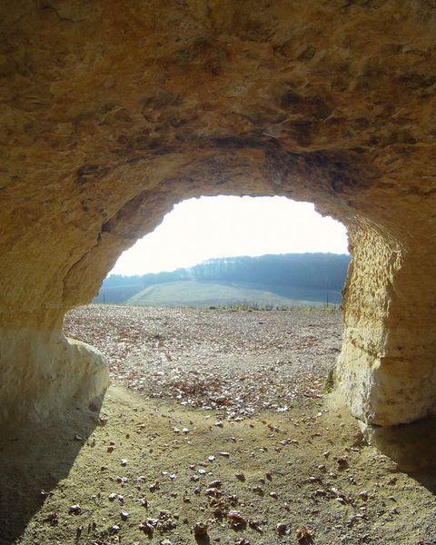Vue d'une cave