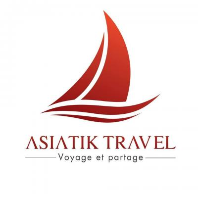 Logo asiatik travel