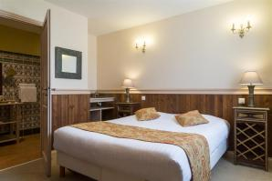 Exemple de chambre hotel domaine des thomeaux