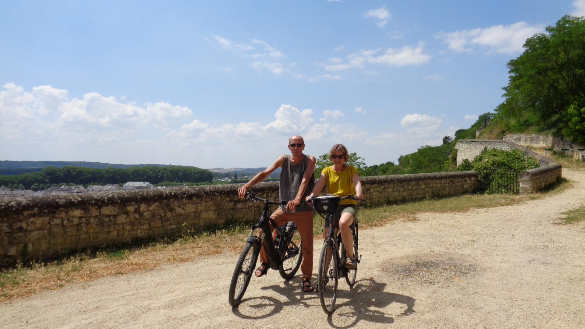 Séjour nature à vélo à Chinon en Touraine val de loire