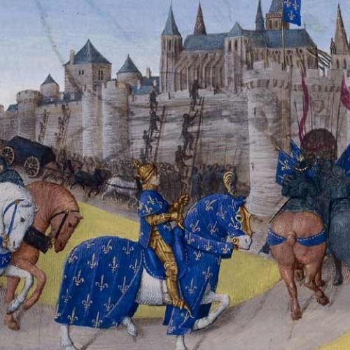 Prise de tours en 1189 par Philippe Auguste, Grandes Chroniques de France