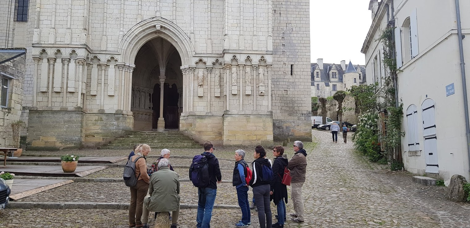 Balade guidée à Candes saint Martin
