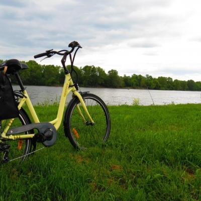 Touraine à vélo électrique