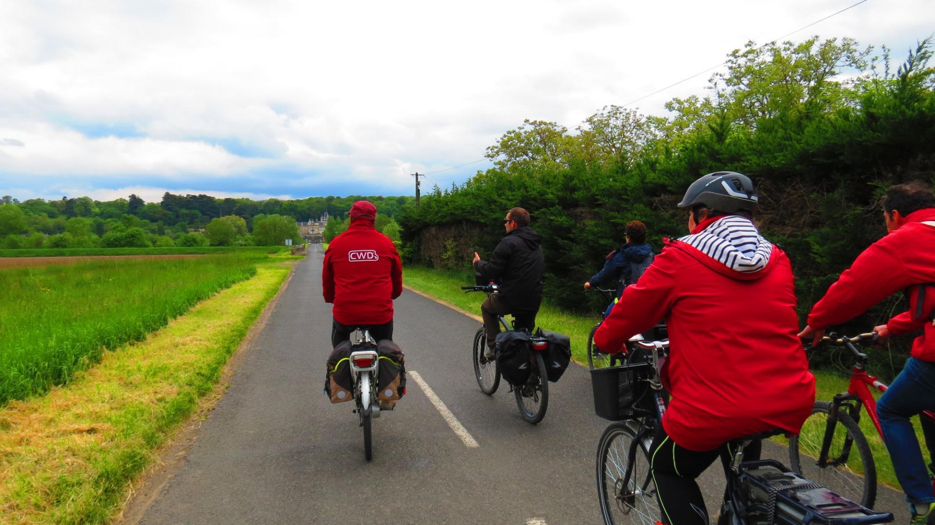 Excursion à vélo sur la Loire à vélo