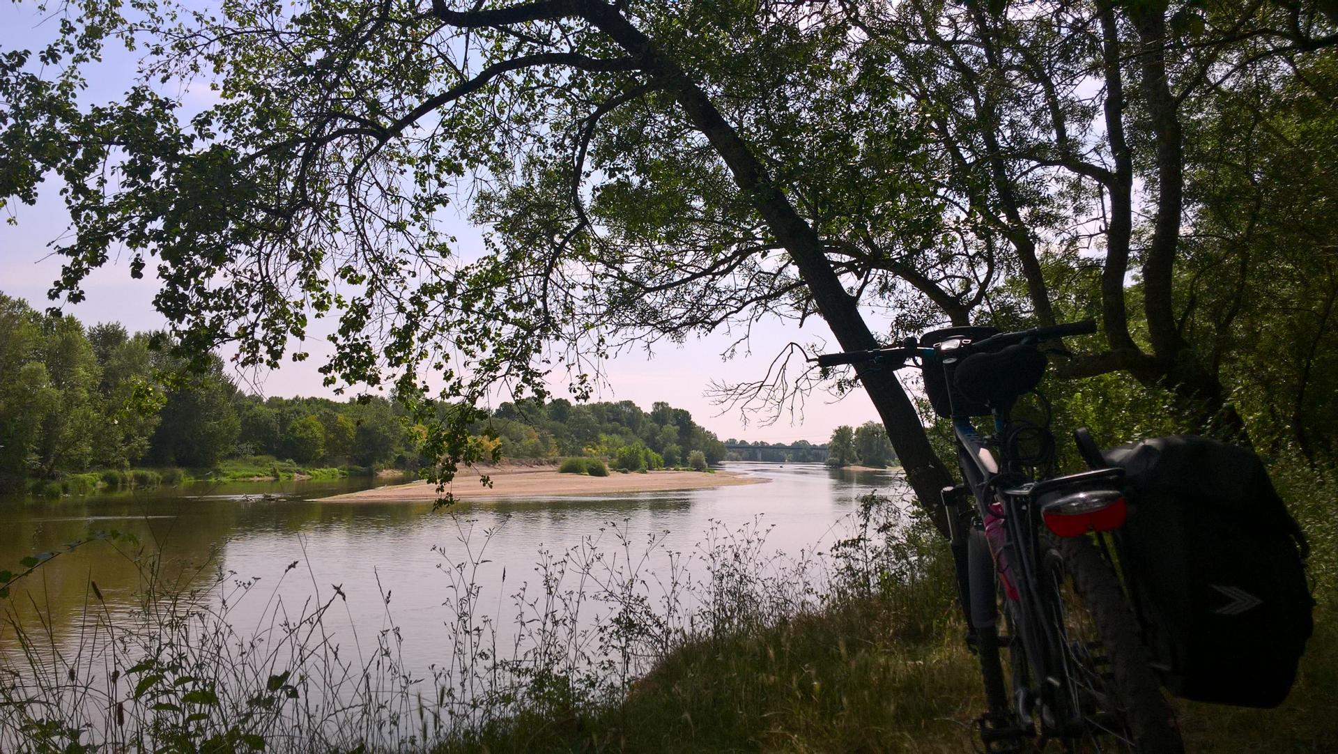 Sortie à vélo à Tours