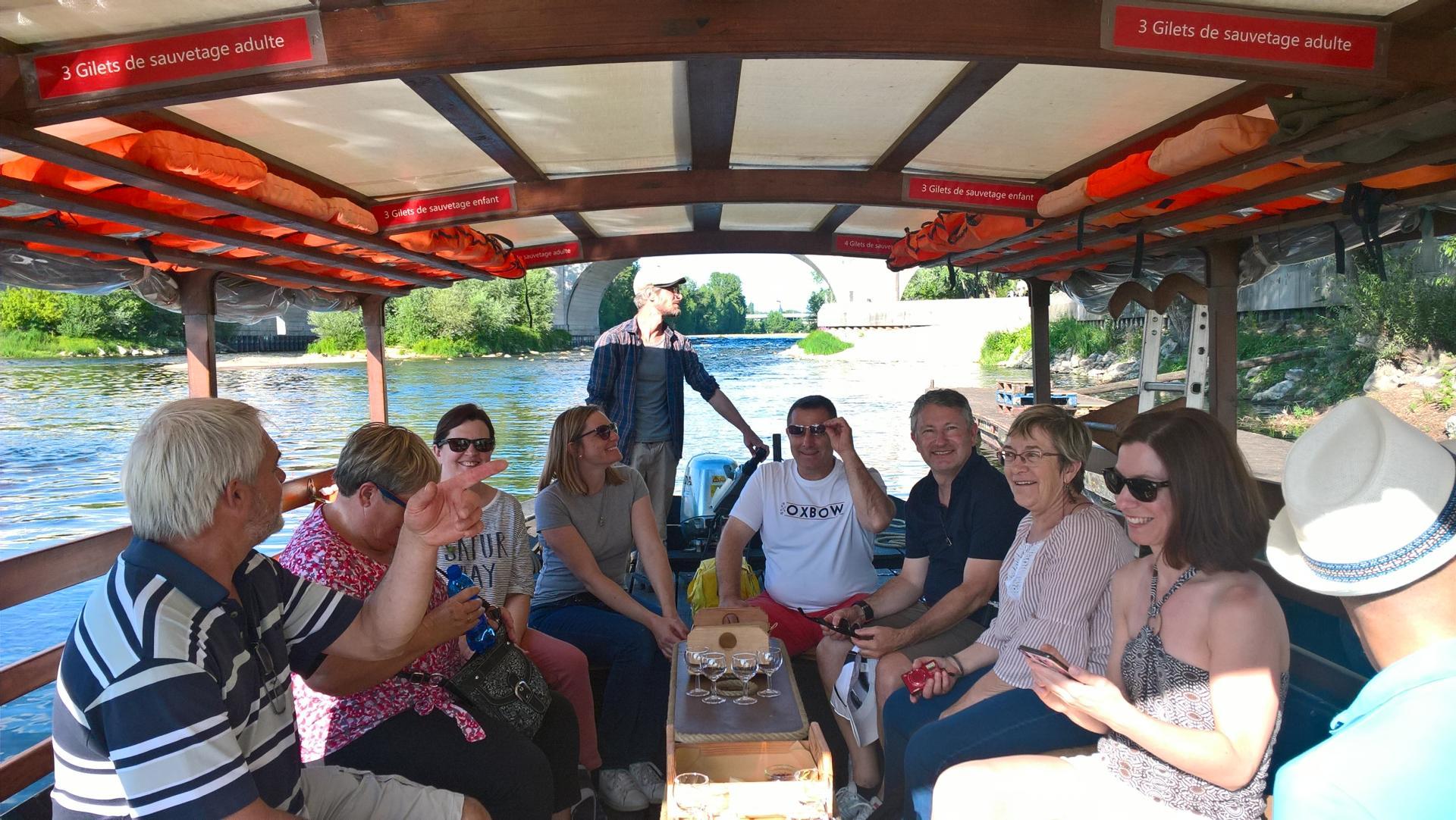 Excursion nature en bateau de Loire à Tours