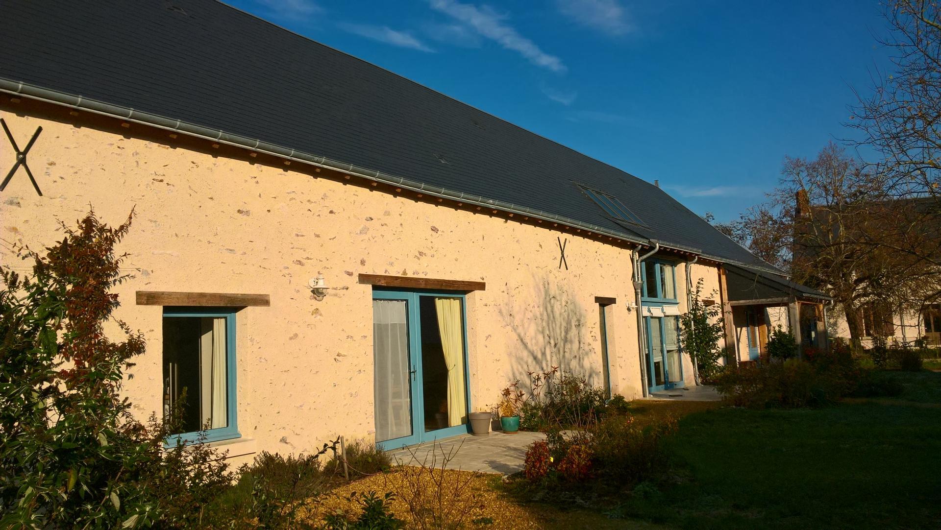 La Ferme des Boissières,  chambres et table d'hôtes en Touraine